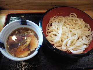 手打ちうどん めんこや 高円寺店 - 辛肉うどん 690円 大盛り無料