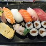 58673576 - ランチ握り寿司 780円 2016.10 再訪