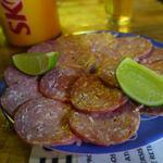 Botequim Vaca Atolada - 料理写真:すっぱいサラミ