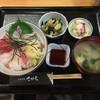 さがえ - 料理写真:(2016-11-11) 日替りランチ(刺身丼)