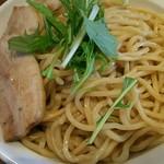 58678357 - 「つけ麺(特盛440g)」+「肉増しW」