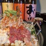 ホルモン鉄鍋 とも吉 - 料理写真: