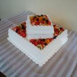 ミツバ - 偶然ウエディングケーキ