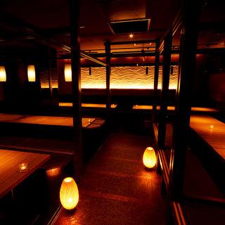 総席数300席!全席個室!浜松町・大門で最大規模♪