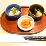 本格熟成うどん 一期一麺 - ほろ酔いセット¥800(税込)