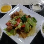 百菜 - ホイコーロー定食