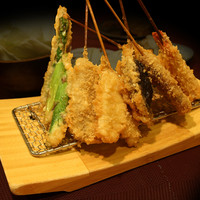 名代 串揚げ 松葉 - 食材を活かすシンプルな串揚げ