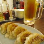 大石餃子店 - ギョービー(餃子とビール)