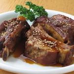 kumakichi食堂 - スペアリブの中華風