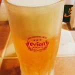 パップパップ - オリオン生ビール