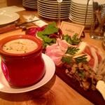 オステリア ルマーカ - 前菜の盛り合わせ