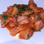 ダイニングキッチン54 - モツのトマト煮込み