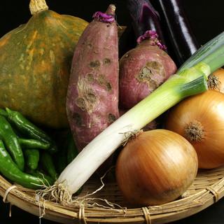 当店は自家栽培のオーガニック野菜