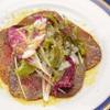 ビストロ ラパン - 料理写真:北海道白老町産黒毛和牛白老牛のシキンボ肉を使ったブレザオラ ¥2000