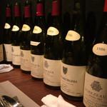 Burgundy - ブルゴーニュのビンテージワインの空ボトル