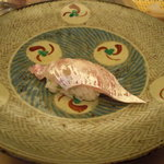 たつ福 - 鯛の腹身。