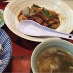 熊ぼっこ - 酢豚定食