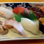 若仲寿司 - 料理写真:上にぎり