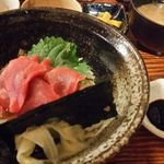 もぐらの宴 - マグロ丼
