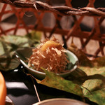 別邸 仙寿庵 - 毬栗 すり身 馬鈴薯☆