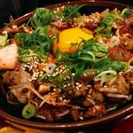 生け簀の甲羅 - まかない丼アップ