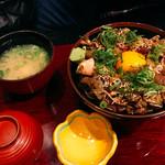 生け簀の甲羅 - まかない丼だよ〜