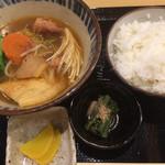 58699509 - ちゃんこ定食600円税込 2016.11撮影