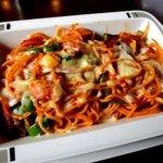 ロータス - 料理写真:焼きナポリタン!