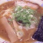 紀州和歌山ラーメン あじゅち屋 - 中華麺(熟成)こってり