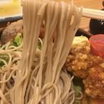 そば元 - 麺アップ