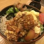 そば元 - 夏季限定サラダ蕎麦