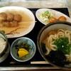 車輪屋 - 料理写真:ランチ うどん定食 \650