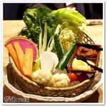 uomori - 新鮮野菜の桶盛り