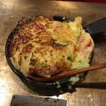 広島風お好み焼き ひなちゃん - 焼きポテトサラダ