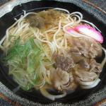 食い亭 - 肉うどん 600円 (2016.11)