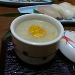 さくら川 - コース⑤茶碗蒸しのウニ乗せ