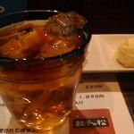餃子の松 - 珈琲焼酎ロック