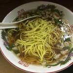 麺屋 十銭 - 替玉(黄麺)