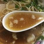 麺屋 十銭 - スープ