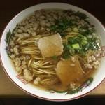 麺屋 十銭 - 昔ながらの尾道中華そば 白麺
