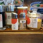 丸源ラーメン - 調味料