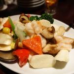 FEI・Little TaiKouRou - 季節野菜と海老の塩炒め