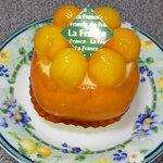 5871577 - まるごと柿のショートケーキ 可愛い♪ 340円