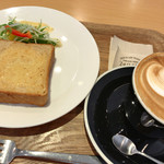 ザラメ ナゴヤ - ★★★☆ トーストモーニング (ドリンク料金+¥0) トーストがほんのり甘くてふわふわ食感