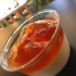 ククーカフェ - 季節のパンナコッタ!柚子&柿