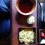 ウヴドの森 伊豆高原 - 料理写真:朝食の離れ宿泊のみの蕎麦