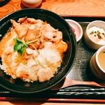 58712369 - 『比内地鶏 親子丼』様(1100円)※平日限定。
