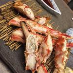 かに道楽 - タラバ焼き