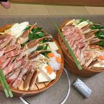 かに道楽 - 鍋