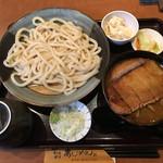 Ajimen - 「うどんとカツカレー丼のセット」1026円
